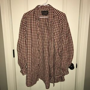 Abercrombie and Fitch Oversized Flannel